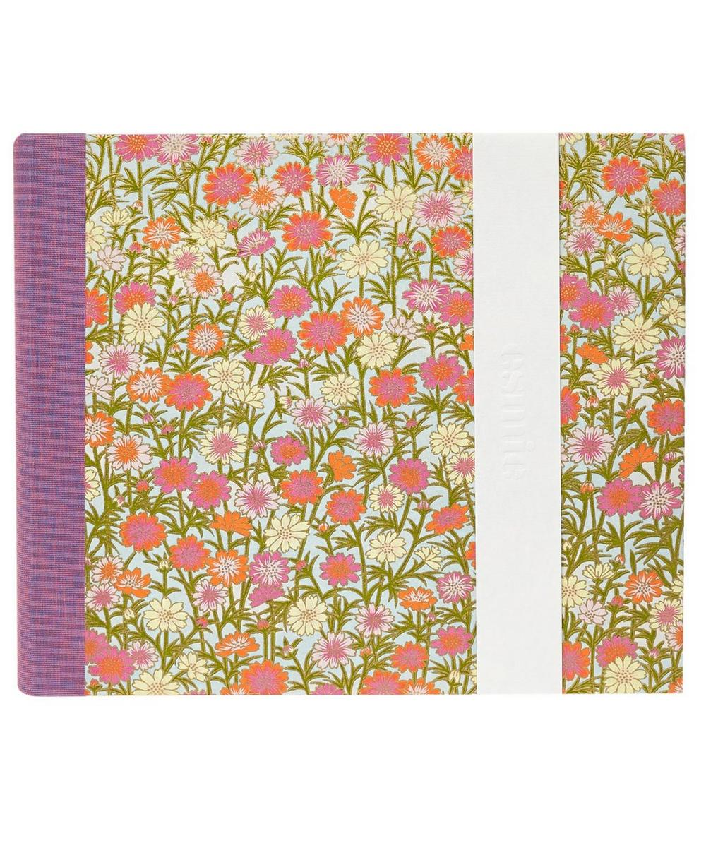 Medium Daisies Silk Screen Photo Album