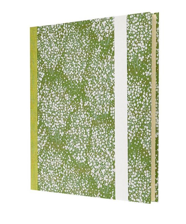 Large Blossom Silk Screen Photo Album