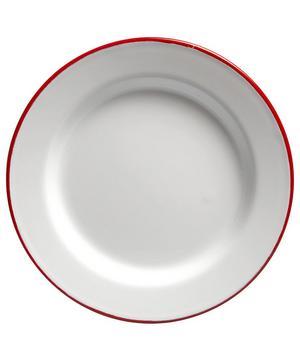 Four-Piece Enamel Plate Set