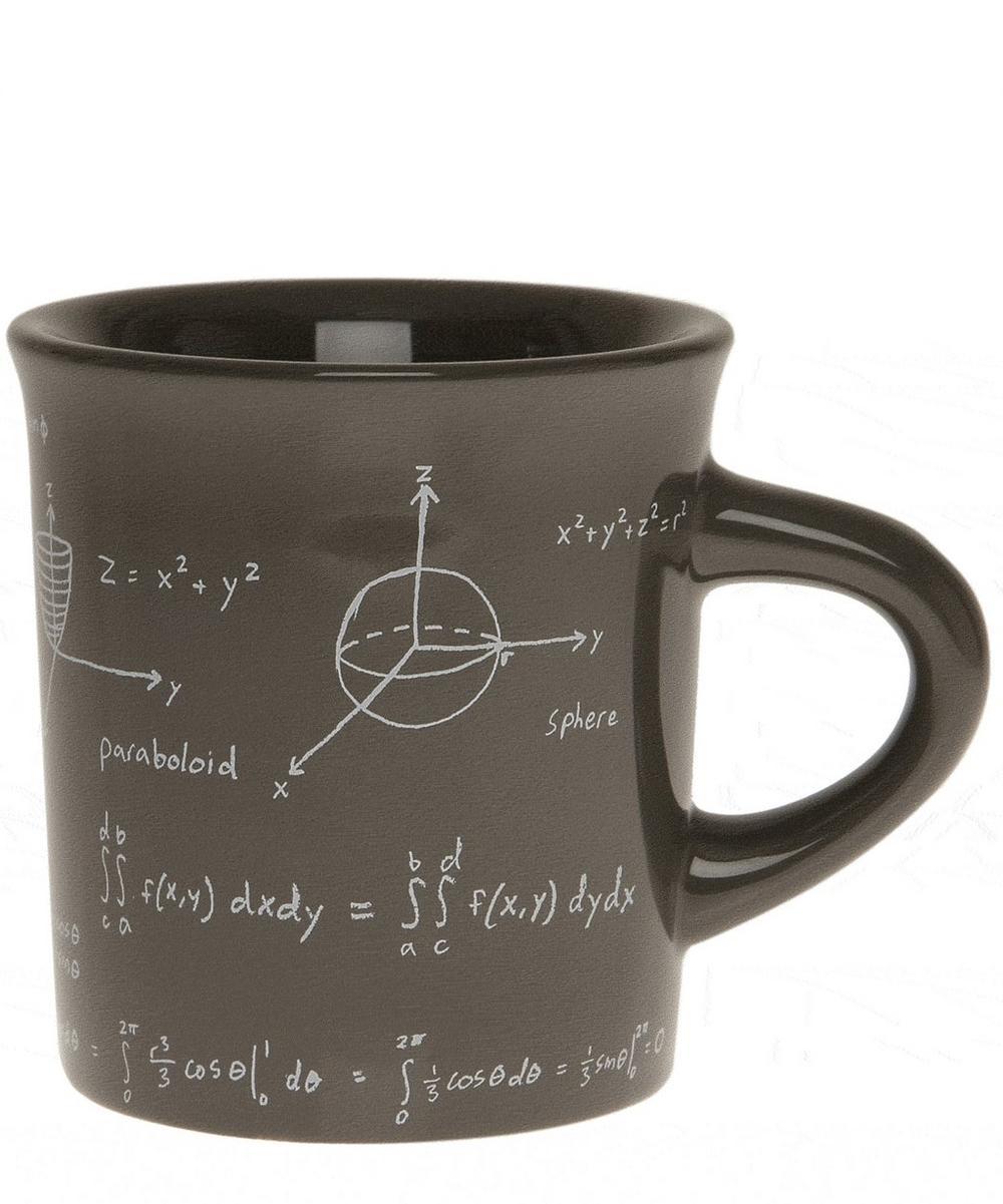 Taupe Maths Equations Mug