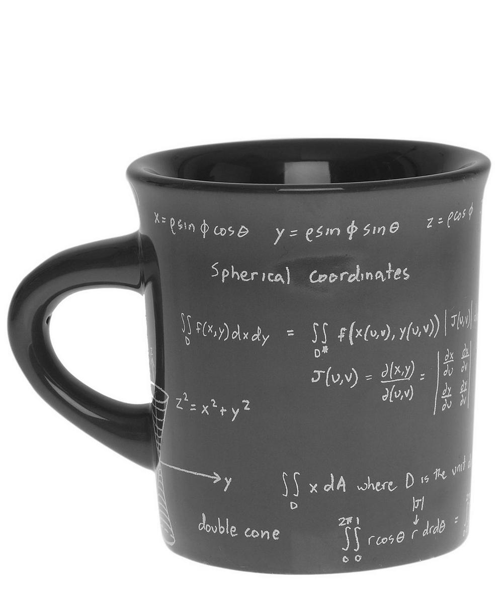 Taupe Maths Equations Mug