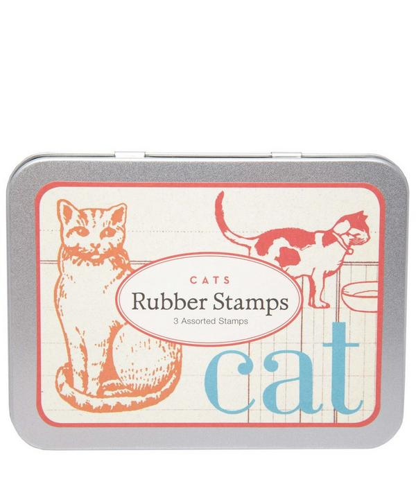 Cats Rubber Stamp Set