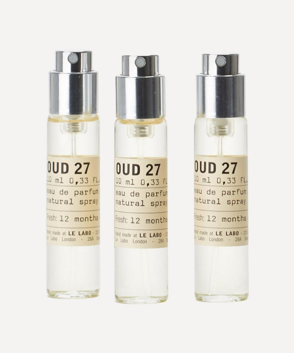 Oud 27 Eau de Parfum Travel Tube Refills 3 x 10ml