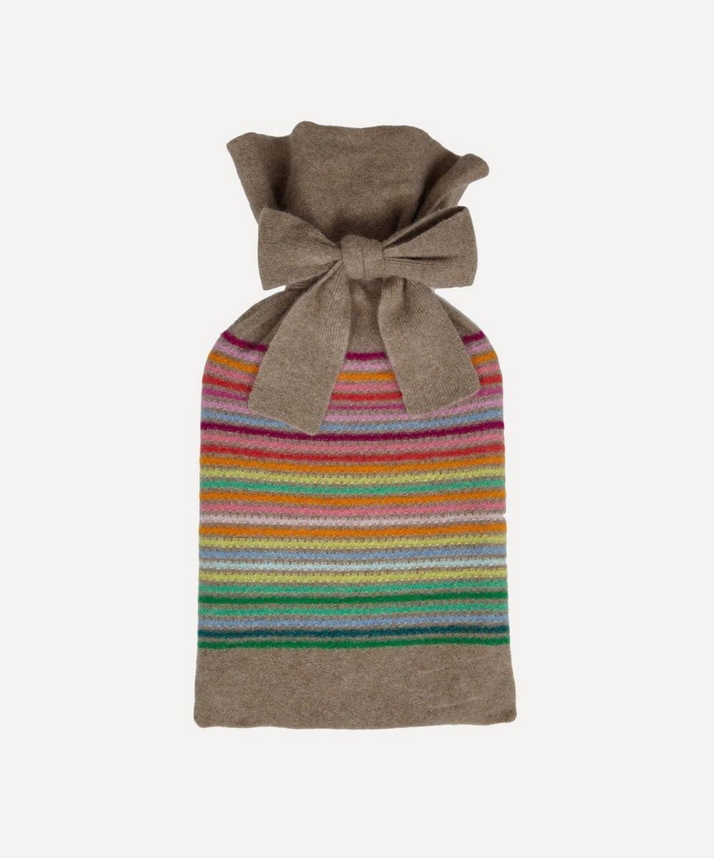Rainbow Stripe Hot Water Bottle