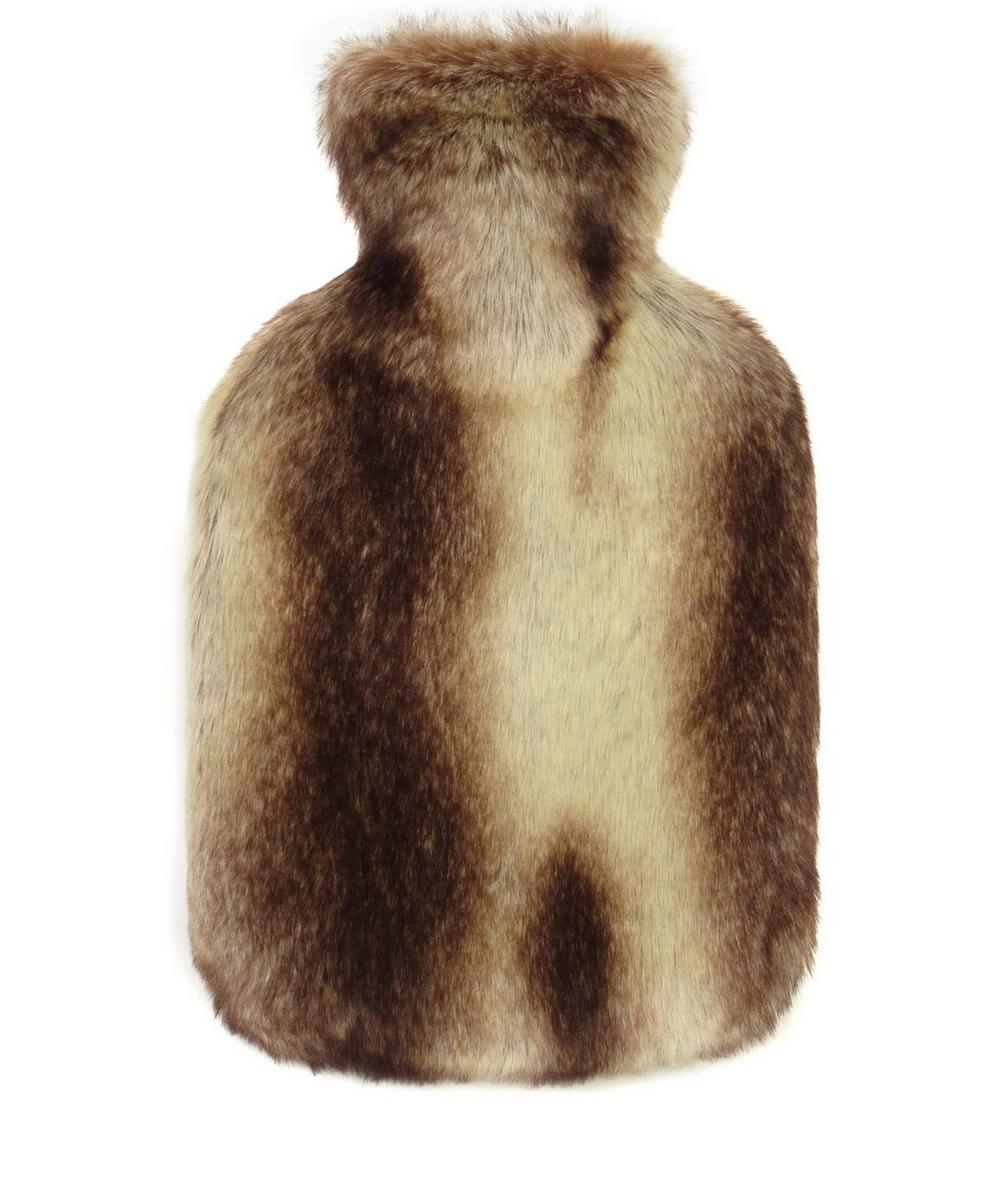 Montana Faux Fur Hot Water Bottle