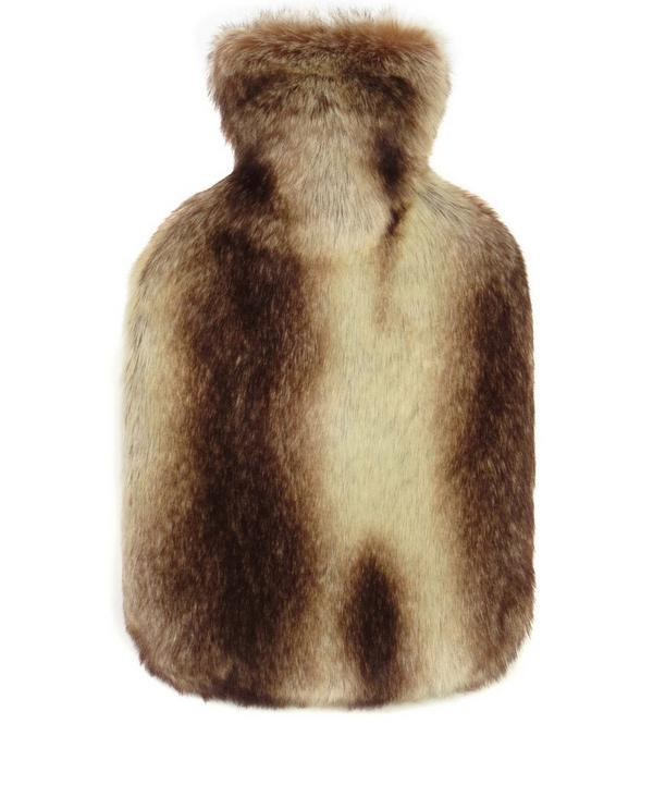 Montana Faux Fur Hot Water Bottle