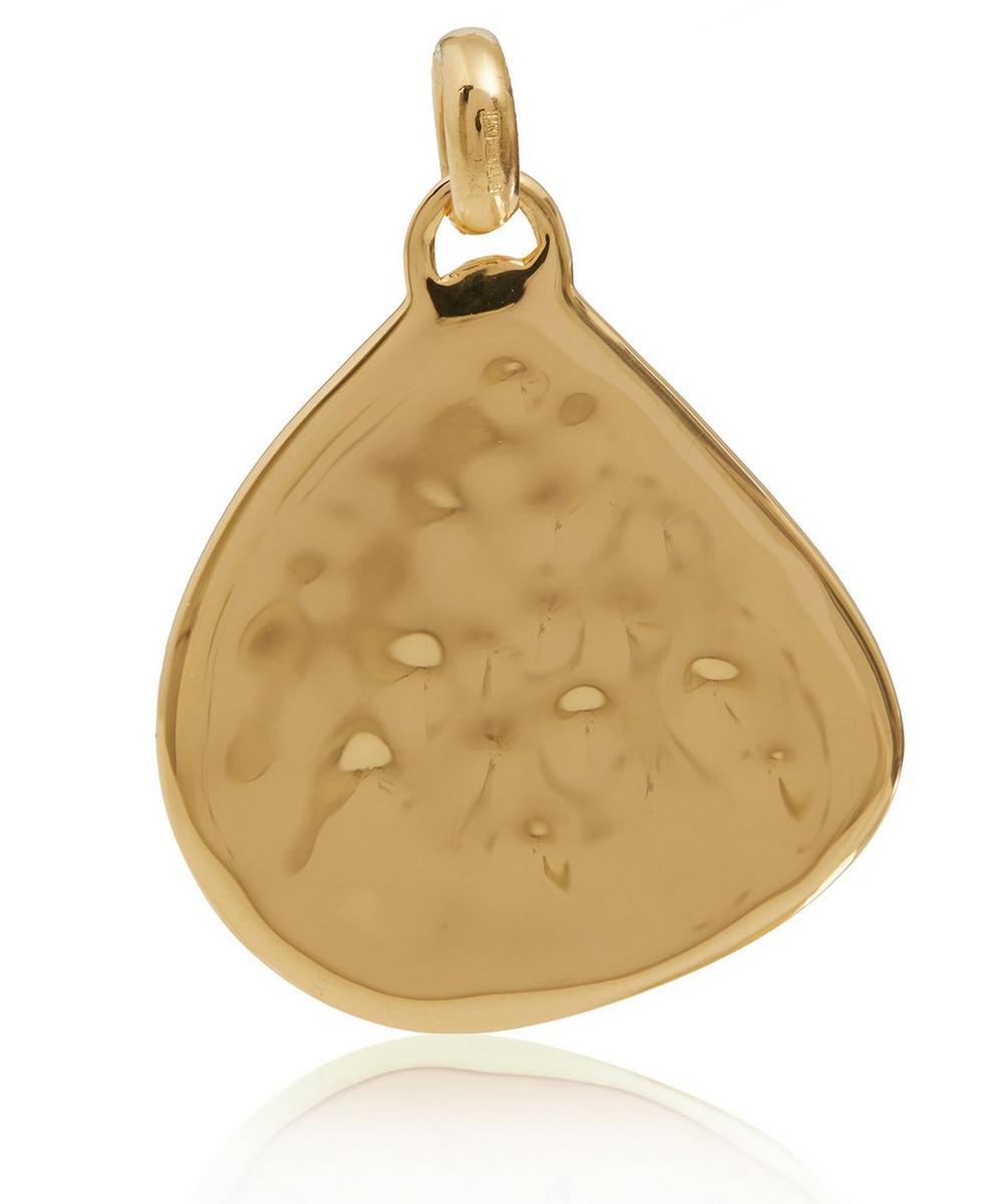 Large Gold Vermeil Siren Pendant