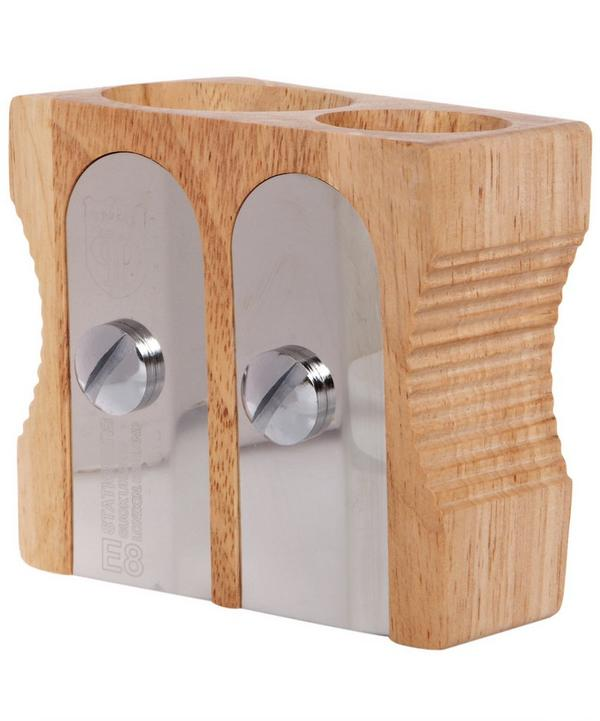 Double Pencil Sharpener Desk Tidy