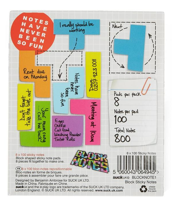 Block Notes Sticky Notes Pack