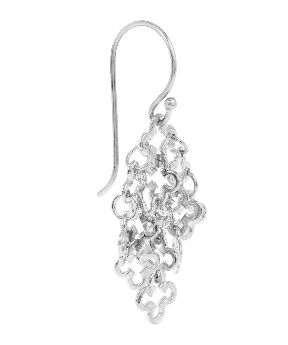 Small Silver Talitha Drop Earrings