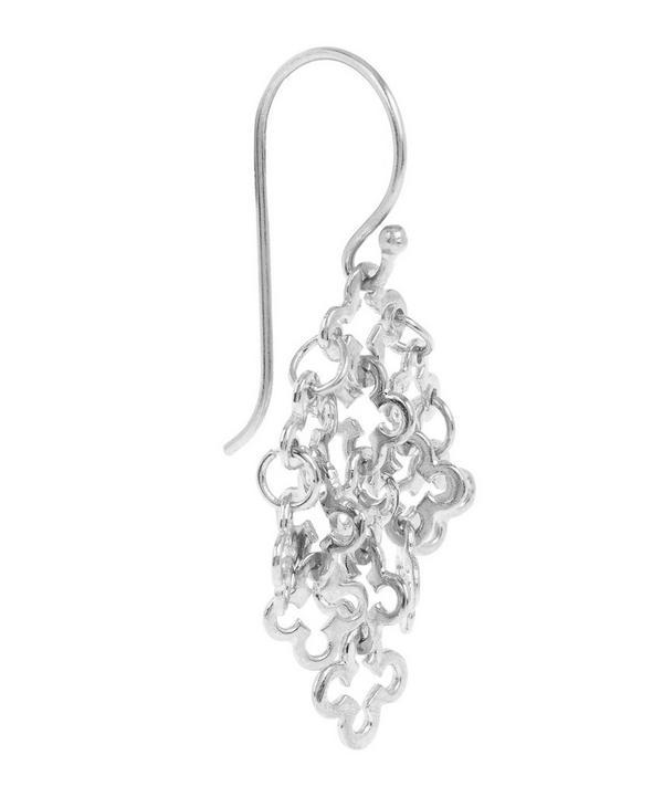 Small Silver Talitha Drop Earrings