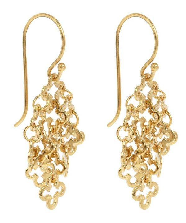 Gold Vermeil Talitha Drop Earrings