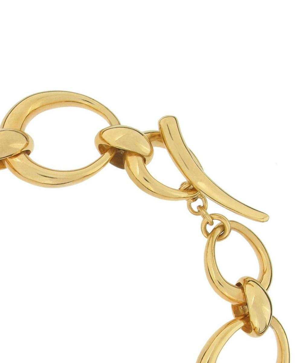 Gold Vermeil Toro Link Bracelet