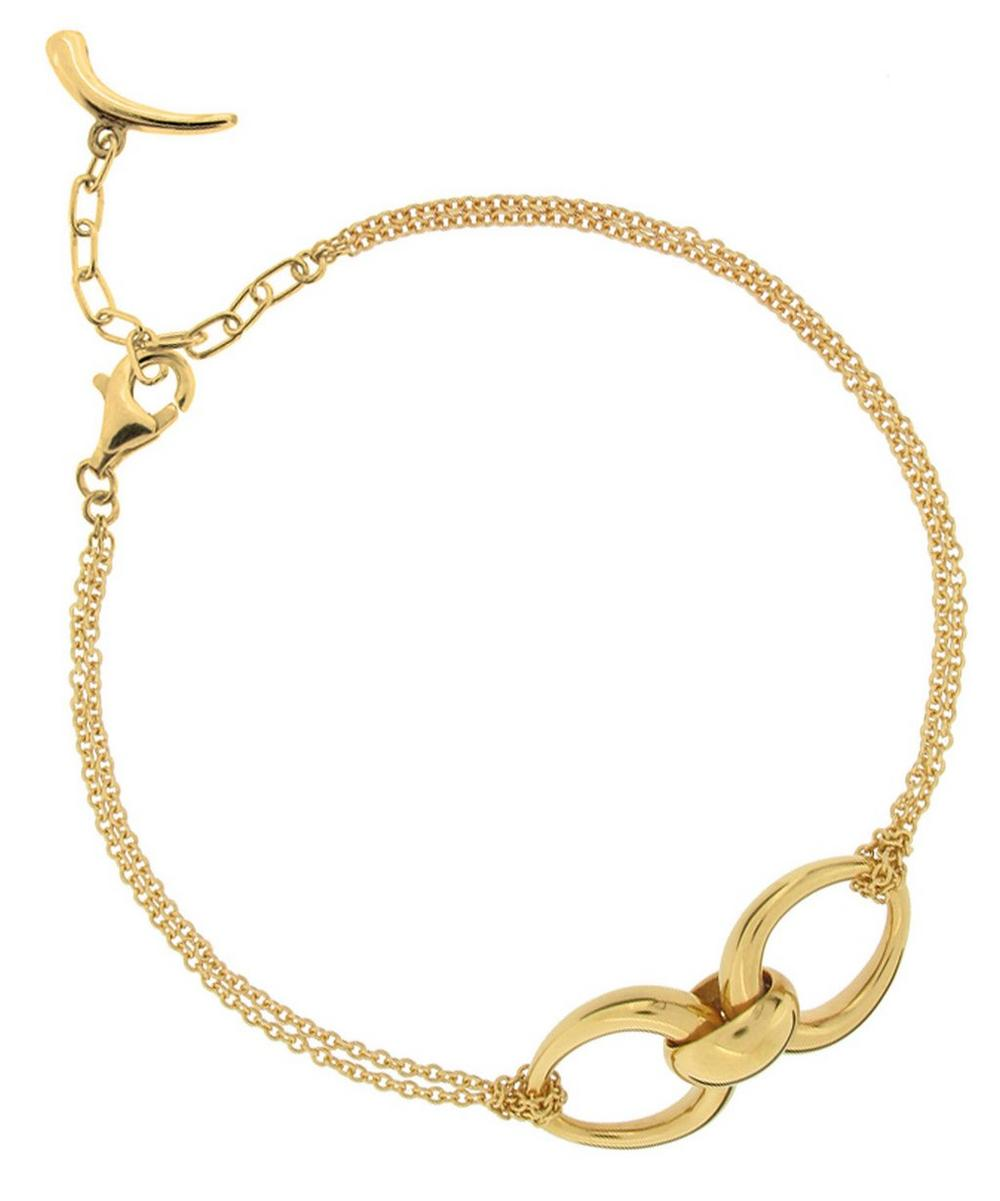 Gold Vermeil Toro Chain Bracelet