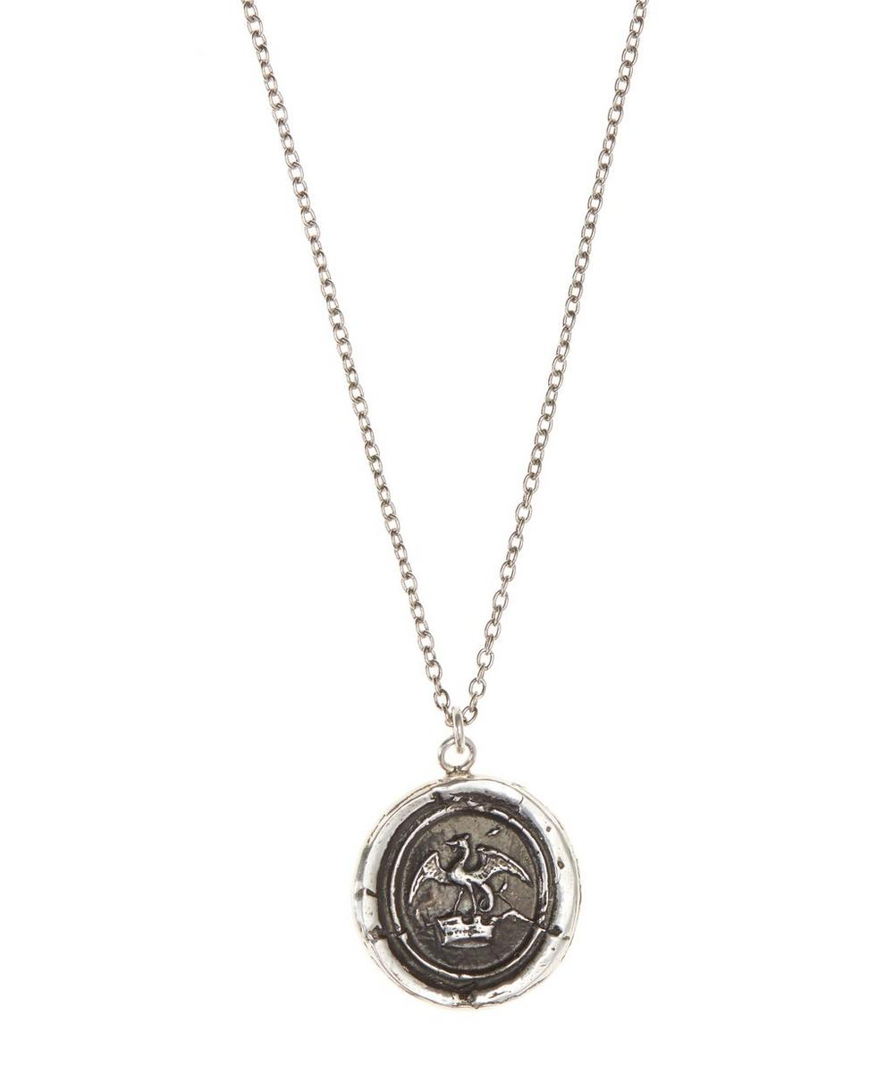 Dragon in Crown Necklace