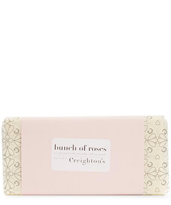 Bunch of Roses Chocolate Bar 100g