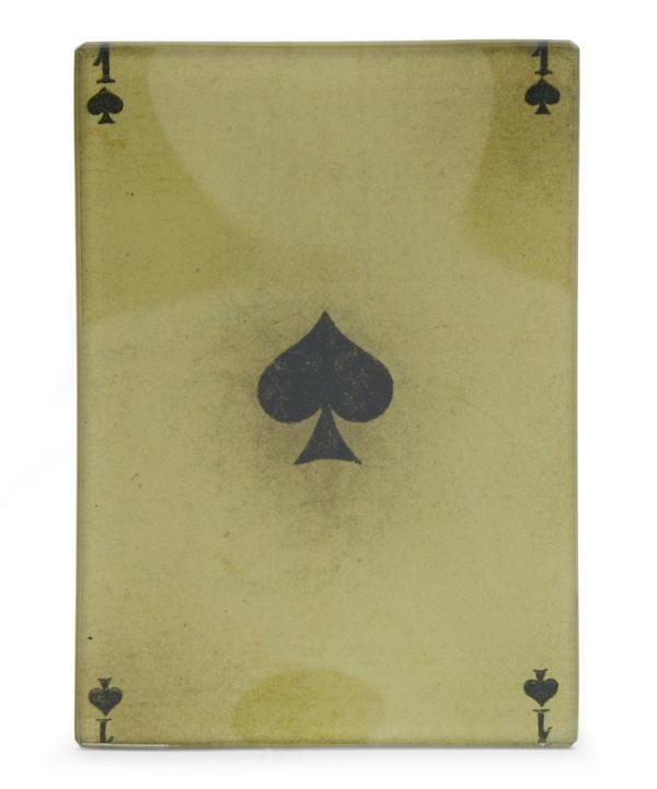 John Derian One of Spades Tiny Tray
