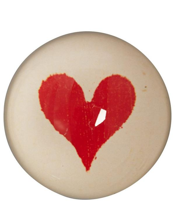 Heart Dome Paperweight