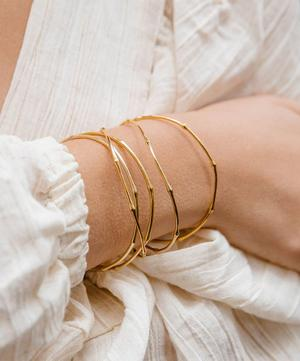 Gold Vermeil Bamboo Bangle