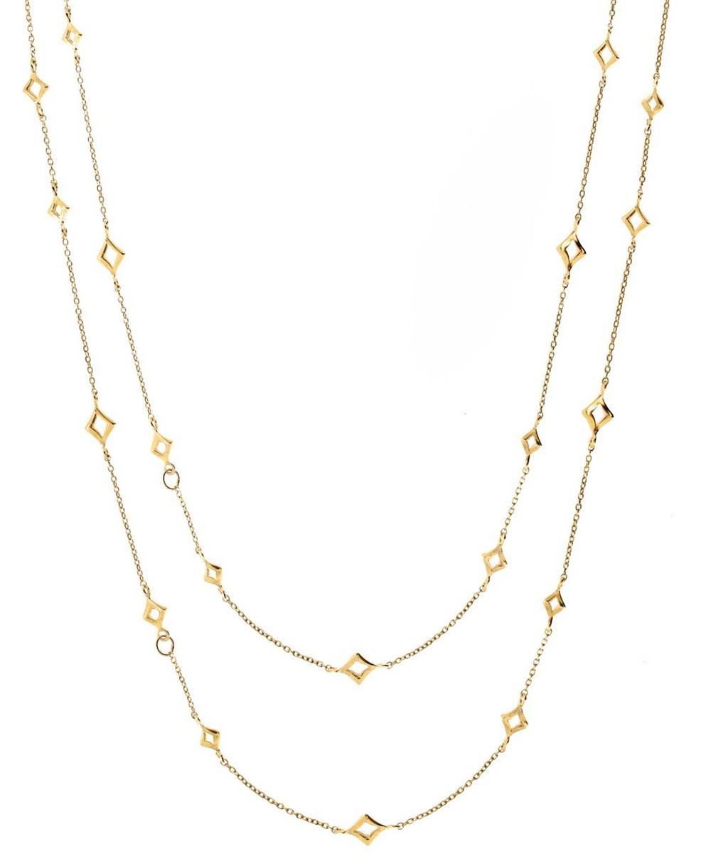 Gold Vermeil Almaz Long Chain Necklace