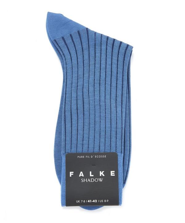 Shadow Ribbed Ankle Socks