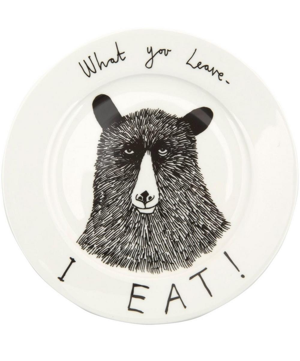 What You Leave I Eat Side Plate