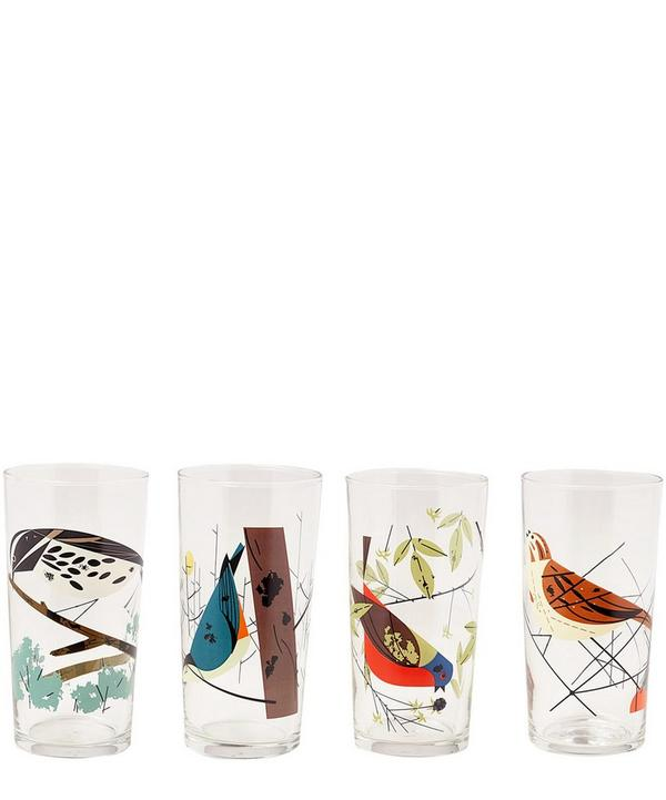 Birds Glass Set