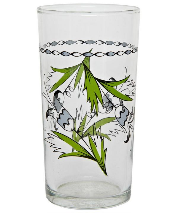 Pinwheel Design Italian Wine Glass