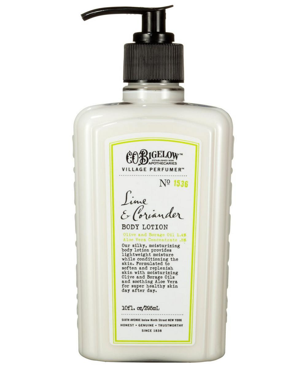 C.O. BIGELOW LIME AND CORIANDER BODY LOTION