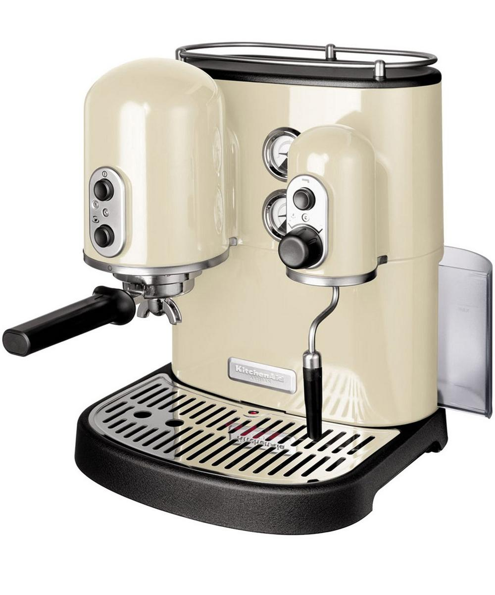 Almond Cream Artisan Espresso Maker