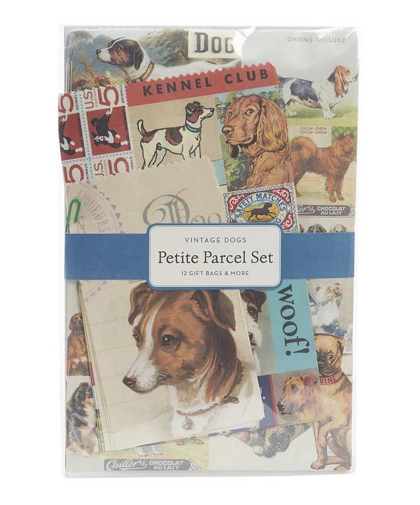 12 Pack Petite Vintage Dogs Parcel Set