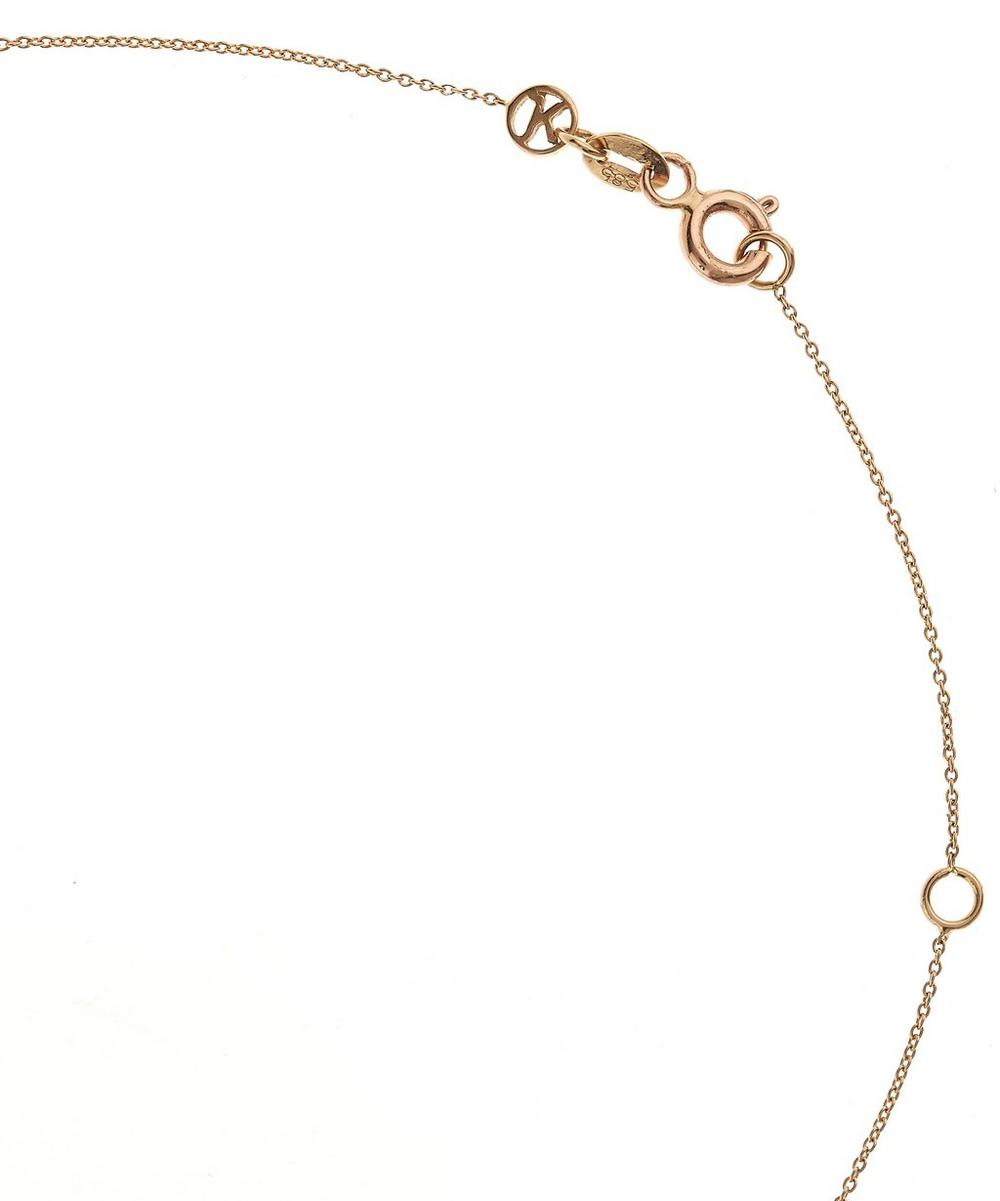 Rose Gold and Diamond 2 Number Necklace