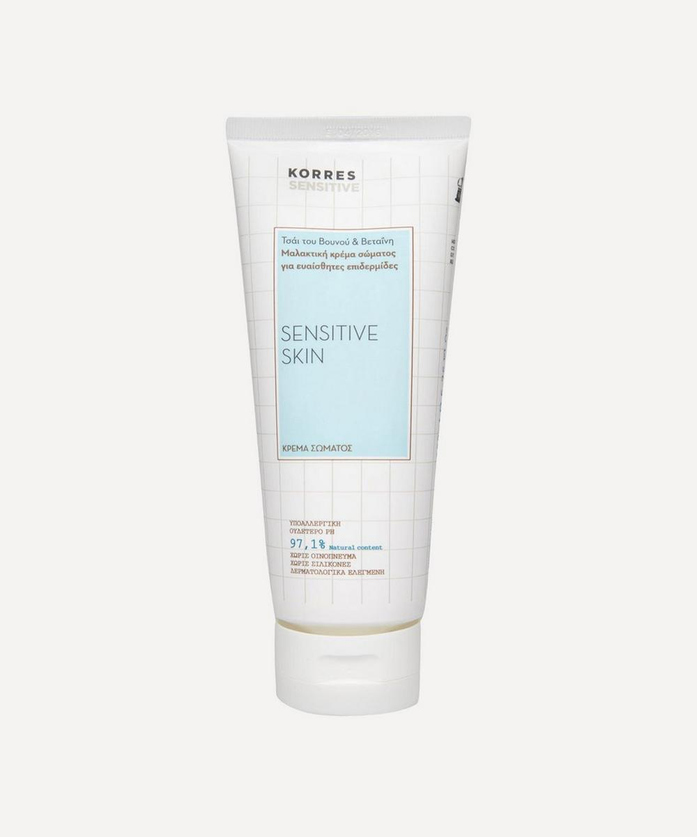 Mountain Tea and Betaine Emollient Body Cream 200ml