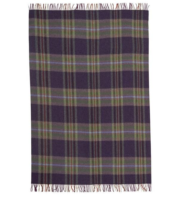 Tartan Merino Wool Throw