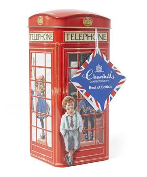London Telephone Box Toffee Tin