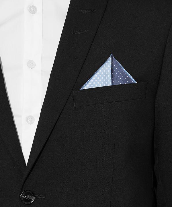 4 Colour Pocket Square
