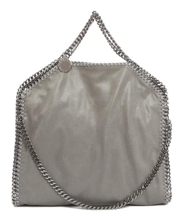 Shaggy Deer Falabella Fold Over Tote Bag