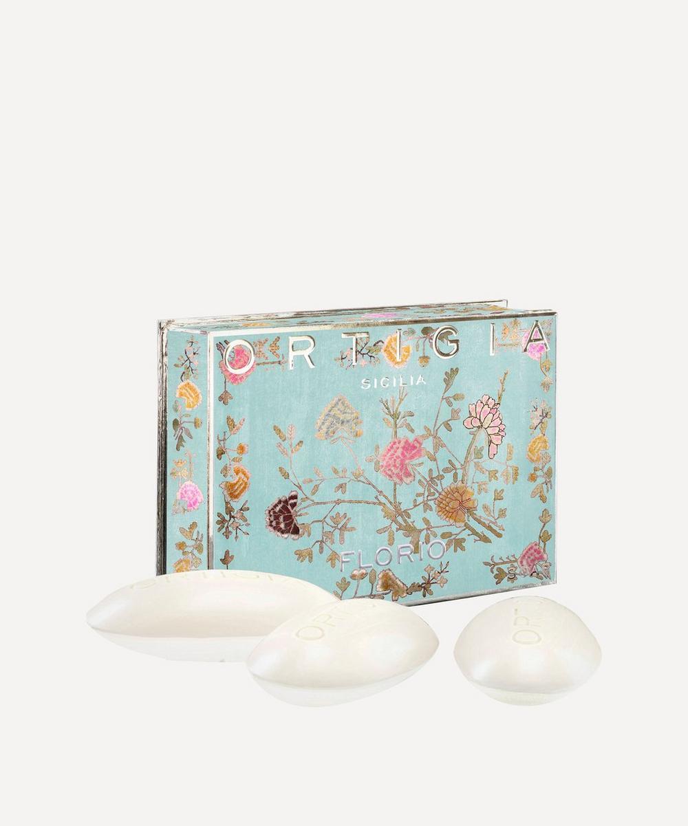 Large Florio Olive Oil Soap Box