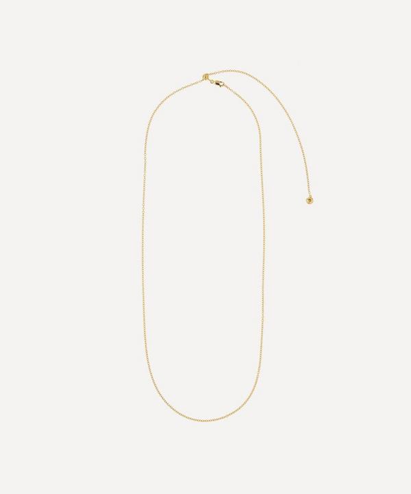 Vermeil Rolo Chain 76-81cm