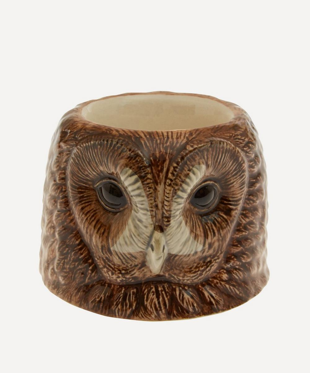 Tawny Owl Face Egg Cup