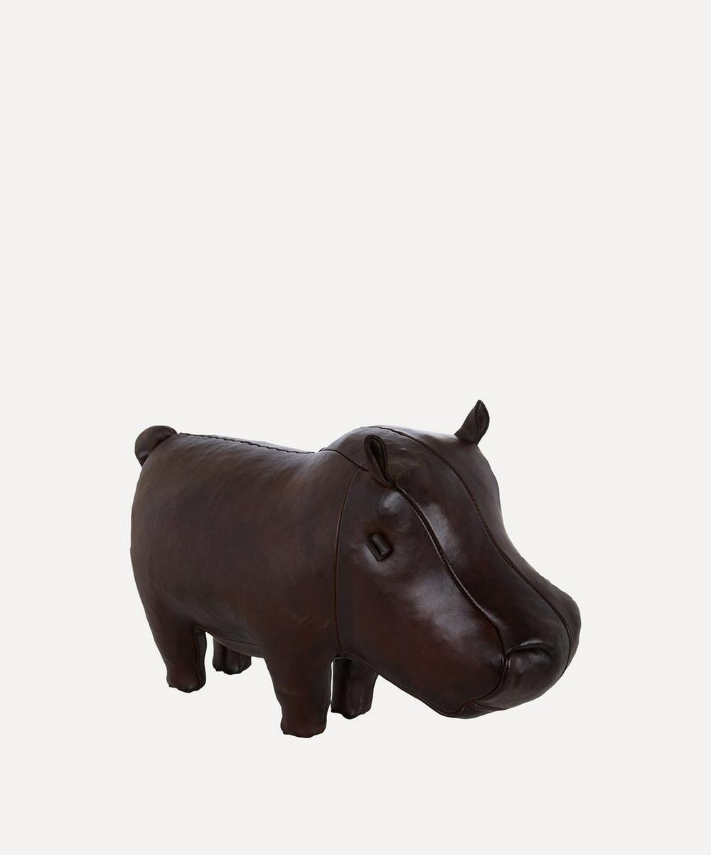 Small Leather Hippo