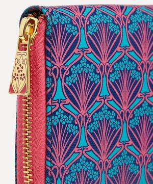 Large Zip-Around Wallet in Iphis Canvas