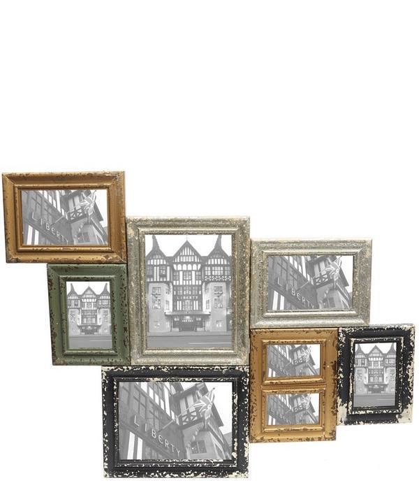 Antique Multi Photo Frame