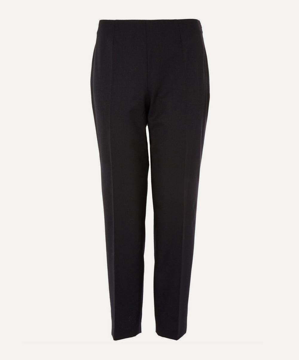 Classic Stretch-Wool Trousers