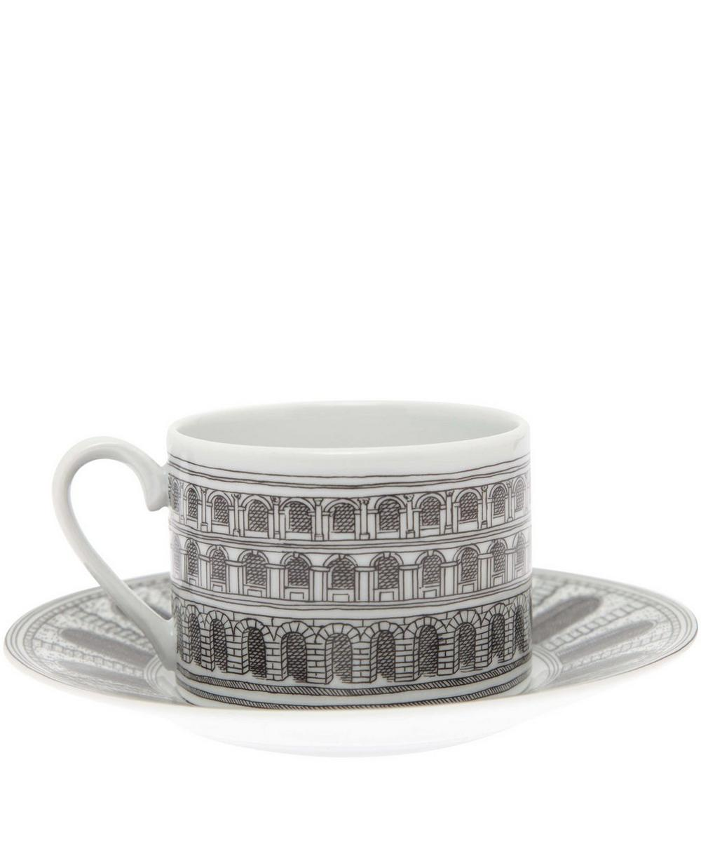 Architettura Tea Cup and Saucer Set