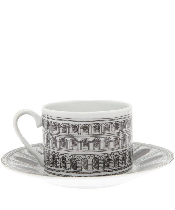 Architettura Tea Cup and Saucer Set