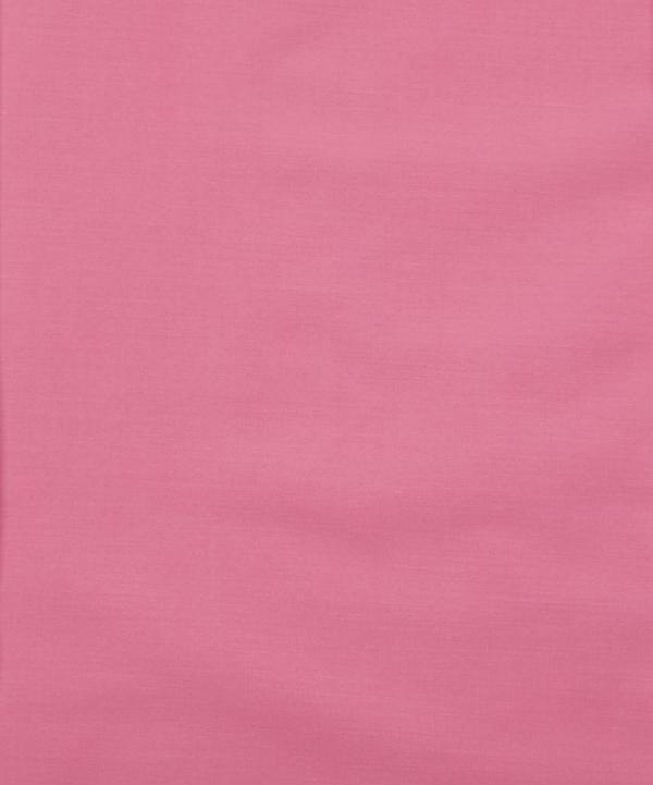 Flamingo Pink Plain Tana Lawn Cotton