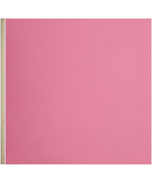 Flamingo Pink Plain Tana Lawn Cotton