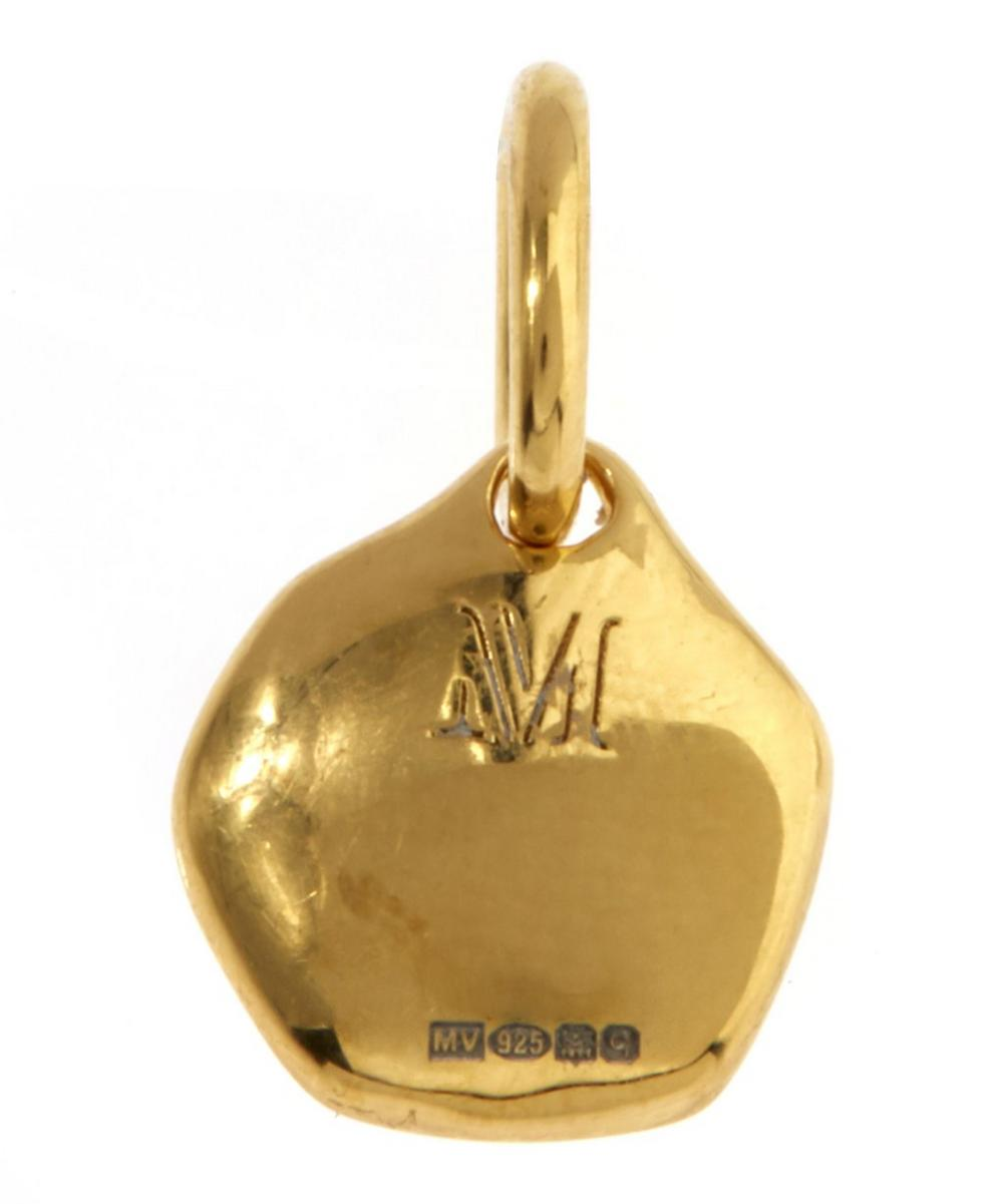 Mini Riva Vermeil Diamond Pendant