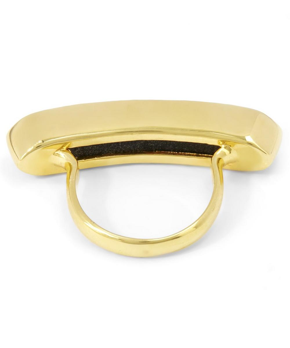 Long Vermeil Baja Ring